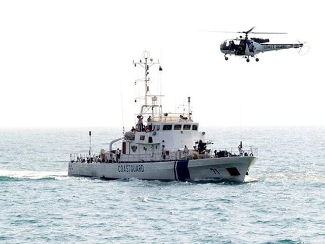 An-aerial-view-of-the-Pakistani-boat-carrying-explosives-before-being-intercepted-by-the-Indian-Coast-Guard-approximately-365-km-off-Porbander-Gujarat-on-January-31-2014-PTI-Photo