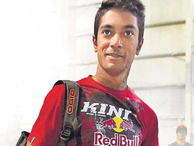 Cross-country-motorcycle-racer-CS-Santosh-Reuters-Photo