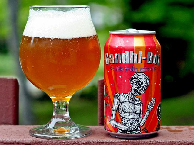 Gandhi-Bot: US company apologises for using Gandhi's image on beer cans