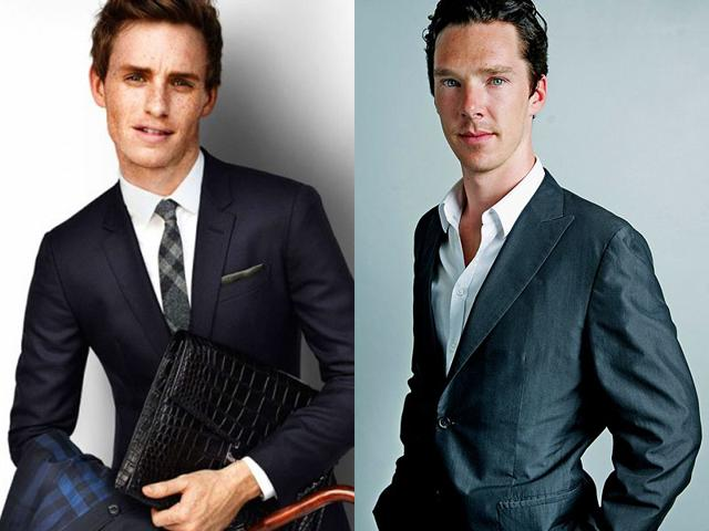 Eddie Redmayne and Benedict Cumberbatch