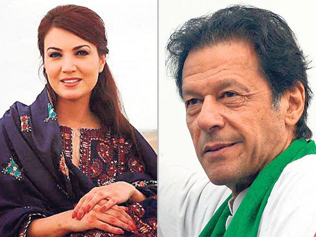 Imran Khan,Reham Khan,Jemima Goldsmith