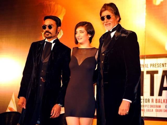 Dhanush,Shamitabh,Amitabh Bachchan