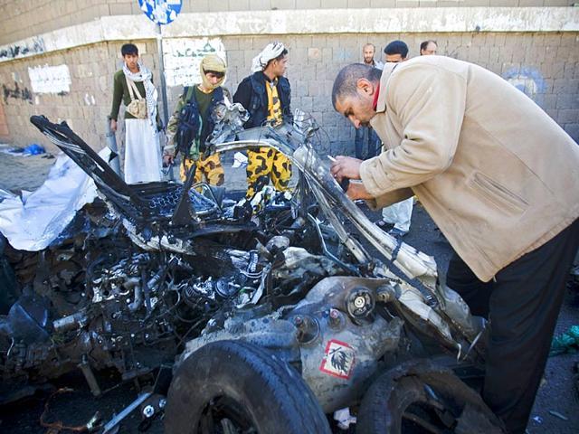 Yemen bomb attack,Yemen car bomb attack