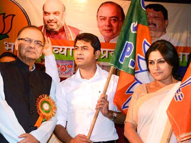 Roopa Ganguly joins BJP