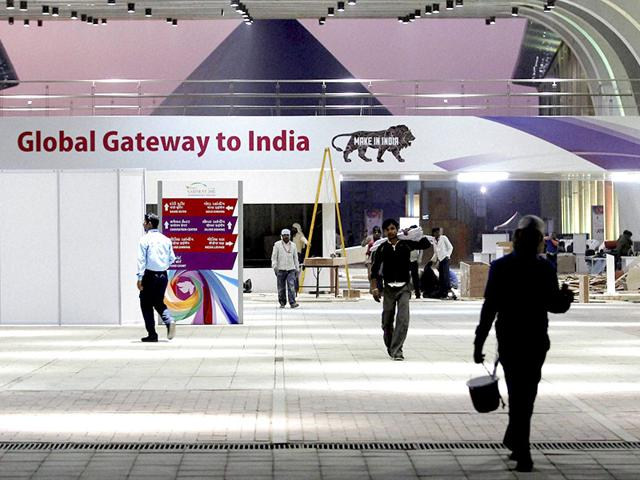 Pravasi-Bhartiya-Divas-and-Vibrant-Gujarat-Global-summit-2015-at-Mahatma-mandir-in-Gandhinagar-PTI-Photo