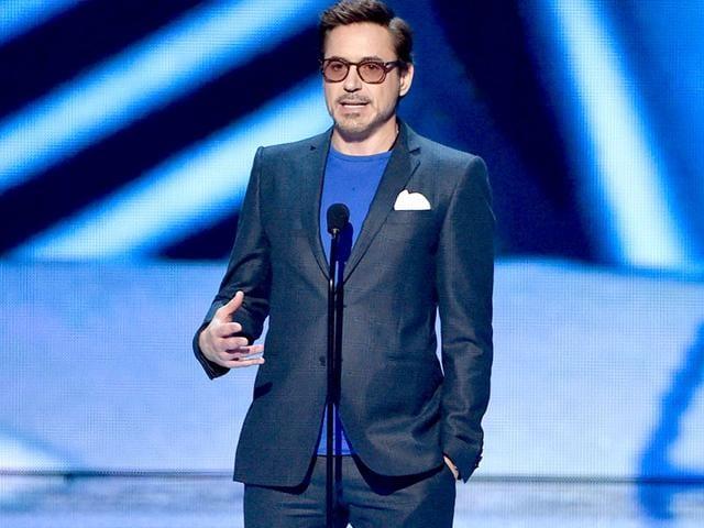 Robert Downey Jr and Jennifer Lawrence