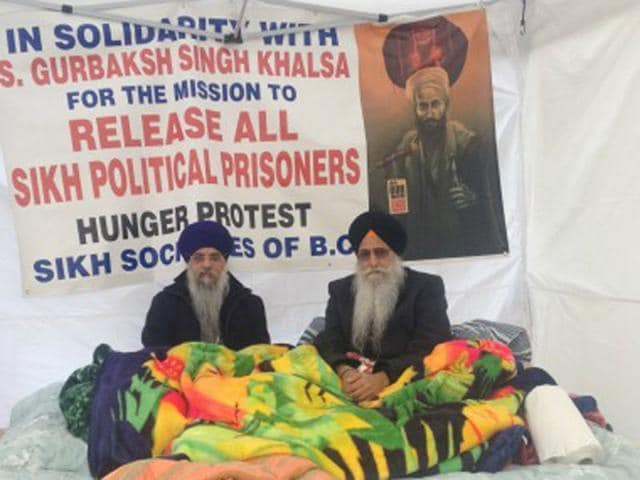 Vancouver,Lower Mainland Sikhs,hunger strike