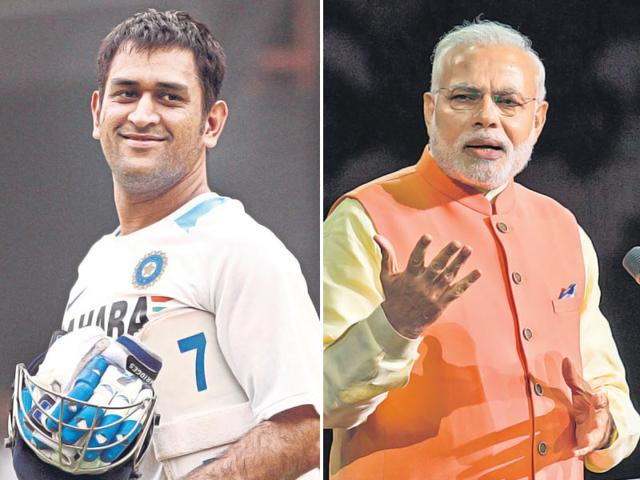 Fire in the belly: Both Dhoni and Modi are real gamechangers