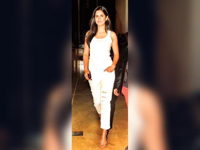 Actor-Katrina-Kaif-in-a-pair-of-ripped-jeans-which-she-had-teamed-with-a-white-vest-Two-words-Cool-and-classic-HT-photo