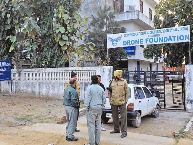 Campus-of-Drone-foundation-in-Gurgaon-national-capital-region-in-which-around-a-dozen-minor-inmates-were-sexually-abused-HT-file-photo