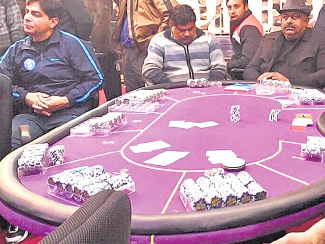 The-casino-was-being-run-in-a-rented-building-by-three-people-who-had-hired-staff-from-Nepalese-casinos-HT-photo