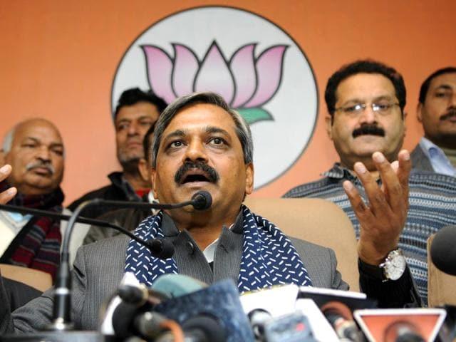 Delhi,Delhi assembly elections,Satish Upadhyay