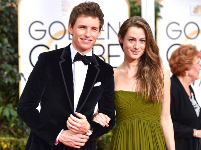 Eddie-Redmayne-with-his-wife-The-Theory-of-Everything-actor-took-the-best-actor-award-home-Sunday-Reuters