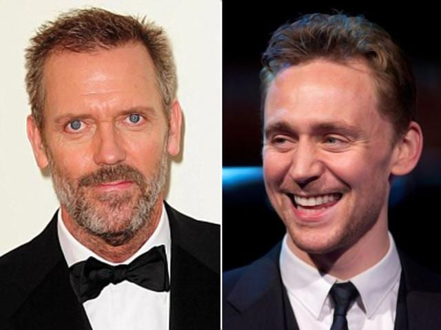 tom hiddleston,hugh laurie,the night manager