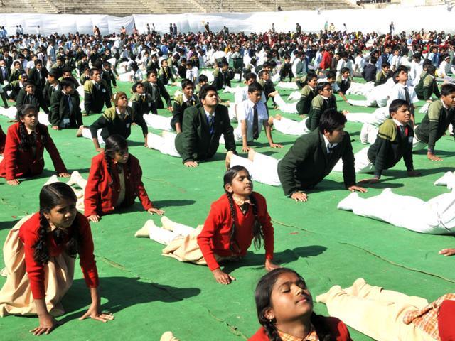 Rajasthan,Surya Namaskar,Surya Namaskar in Rajasthan schools
