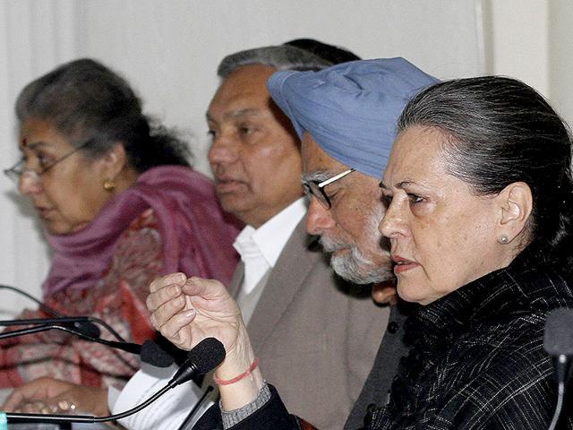 Sonia Gandhi,Narendra Modi,Congress