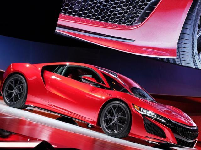 new NSX,Acura,Detroit auto show