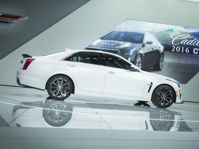 Cadillac CTS-V,powerful car,BMW