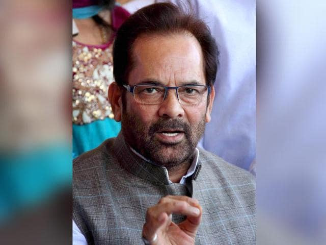 Mukhtar-Abbas-Naqvi-was-on-Wednesday-sentenced-to-one-year-in-prison-after-a-court-in-UP-held-him-guilty-of-breaching-prohibitory-orders-during-the-Lok-Sabha-polls-in-2009-PTI-file-Photo