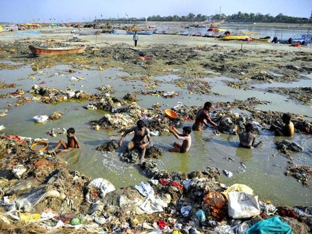 River Ganga pollution