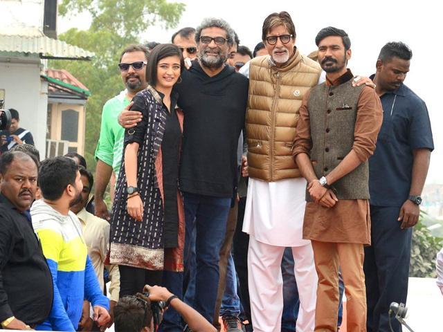 Amitabh Bachchan,Shamitabh,Akshara Haasan