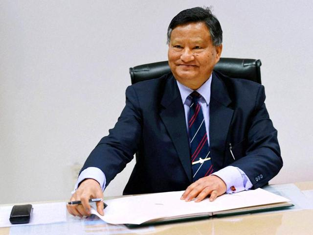HS Brahma,India's new election commissioner,new election commissioner