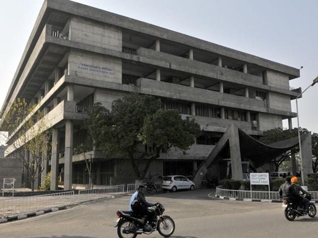 Administrative-block-of-Panjab-University-Chandigarh-HT-Photo