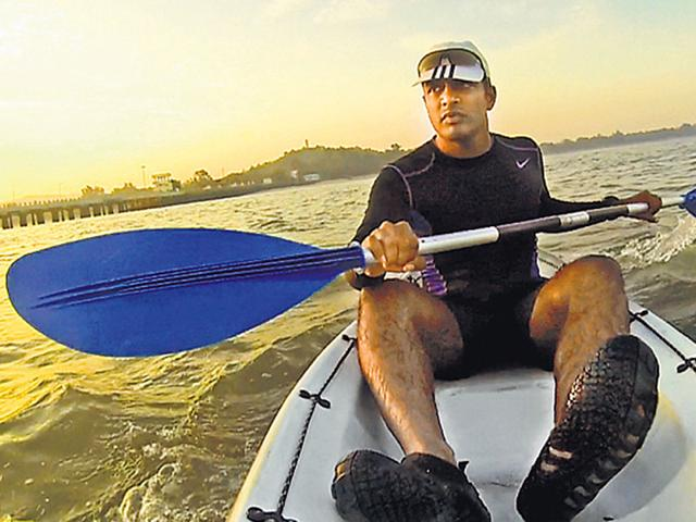 Kaustubh-Khade-will-kayak-from-Mumbai-to-Goa-in-the-first-week-of-February-The-expedition-will-take-20-days-HT-photo