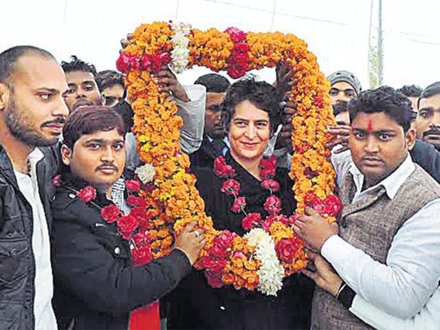 Priyanka Gandhi Vadra,Congress,Uttar Pradesh
