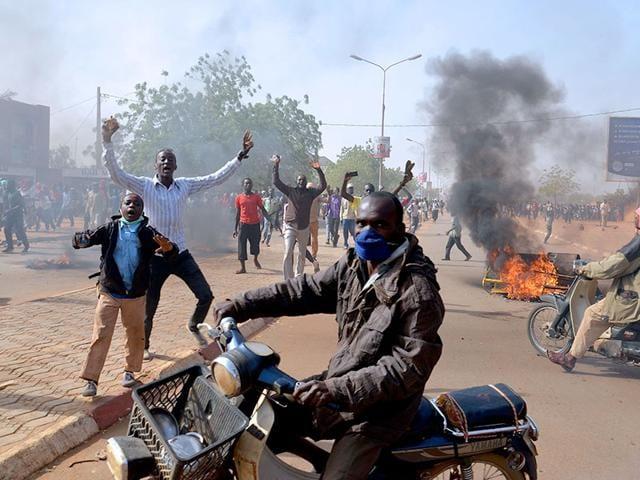 charlie hebdo protests,Niamey,Nigeria