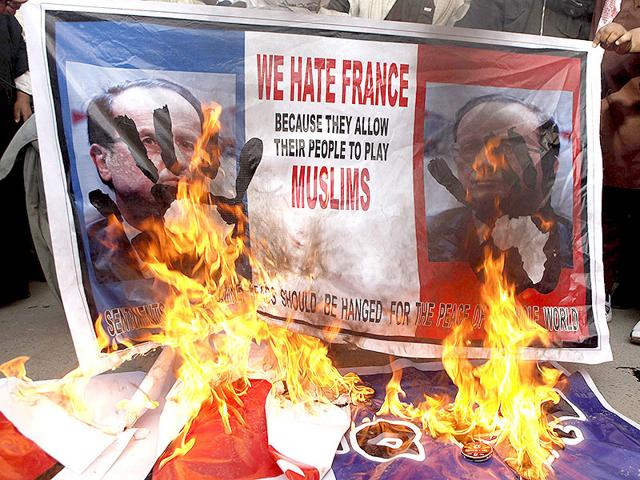 Pakistan protests,Protests against charlie hebdo,Pak protests