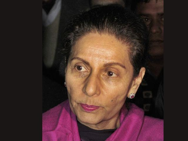 In Patiala, Preneet leads protest against lack of civic amenities
