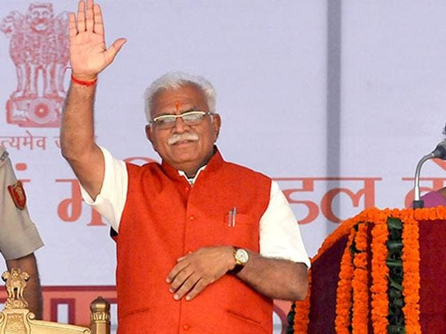 Manohar-Lal-Khattar-Haryana-chief-minister-HT-Photo