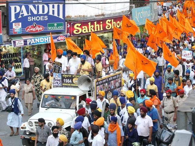 Moga,Dal Khalsa,radical Sikh organisation