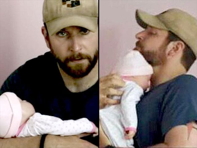 And the best fake baby award goes to... American Sniper ...