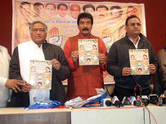 Indore municipal elections,Madhya Pradesh,Congress