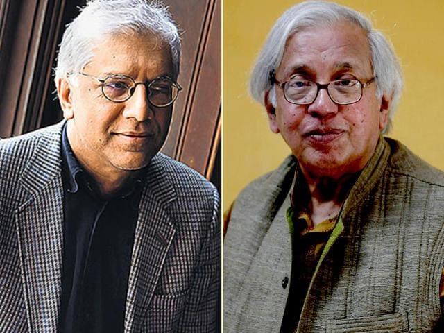 From-L-to-R-Vijay-Sheshadri-and-Ashok-Vajpeyi-Photo-M-Zhazo-HT-at-the-Jaipur-Literature-Festival