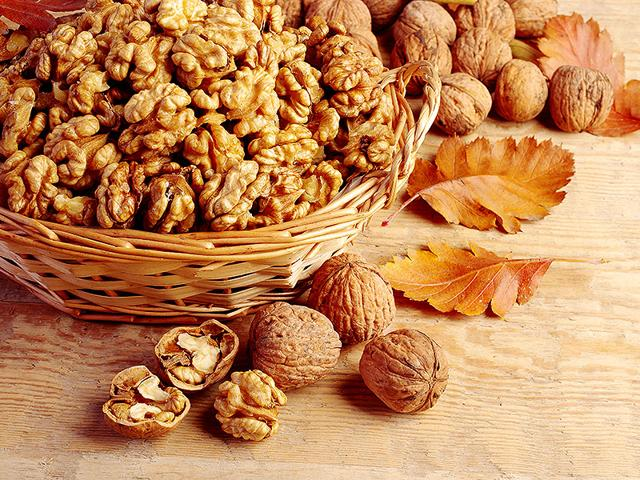 turmeric,walnut,cinnamon