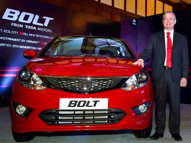 Timothy-A-Leverton-Head-Advanced-and-Product-Engineering-Tata-Motors--during-the-launch-of-the-Tata-Bolt-in-Kolkata-PTI-Photo