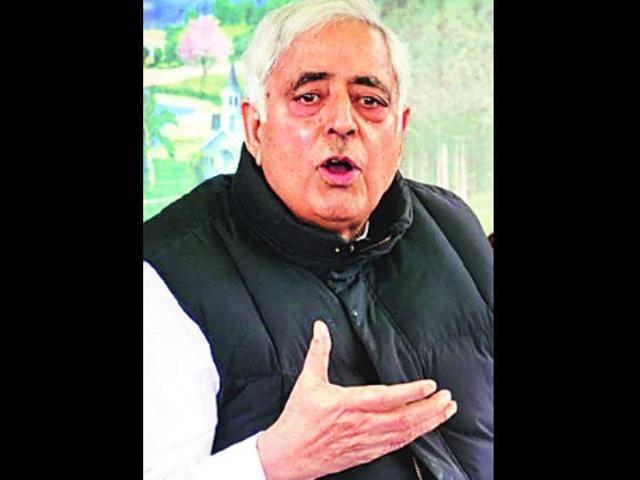 Jammu and Kashmir chief minister
