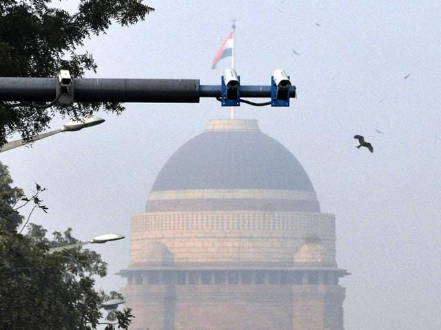 Security-personnel-patrol-the-Taj-Mahal-US-President-Barack-Obama-is-expected-to-visit-the-historic-monument-in-the-coming-week--PTI-Photo