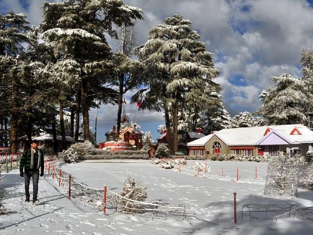 Shimla,Himachal Pradesh,snowfall