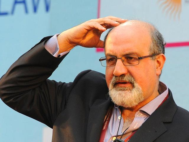 Nassim-Nicholas-Taleb-at-a-session-on-Black-Swan-The-Impact-of-the-Highly-Improbable-during-the-Literature-Festival-in-Jaipur-on-Saturday-Photo-Mohd-Zakir-HT