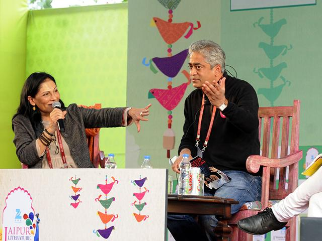 From-left-Madhu-Trehan-Rajdeep-Sardesai-and-Mihir-Sharma-at-a-session-on-Deconstructing-Change-The-Election-That-Changed-India-Photo-Mohd-Zakir-HT
