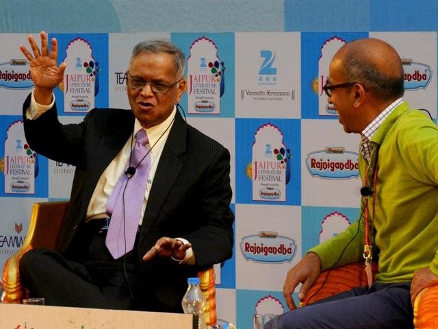 Make in India campaign doomed to fail unless we discipline ourselves: NR Narayana Murthy