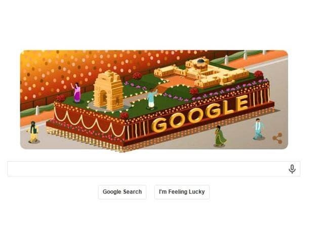 Google,Google Doodle,Republic Day