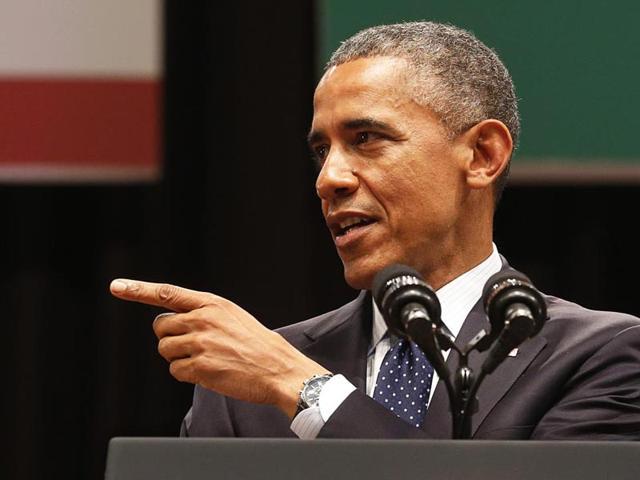 US-President-Barack-Obama-addressing-a-gathering-at-Siri-Fort-auditorium-in-New-Delhi-Vipin-Kumar-HT-File-photo