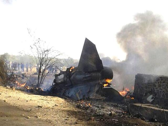 MIG-27 crash,Indian Air Force,MIG crash