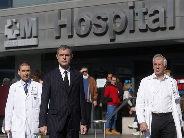 French-ambassador-to-Spain-Jerome-Bonnafont-C-leaves-La-Paz-Hospital-in-Madrid-Reuters-Photo