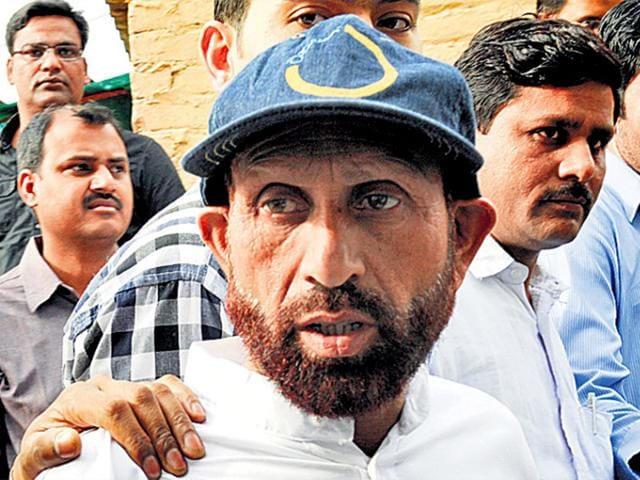 The-NIA-has-recommended-departmental-action-by-the-home-ministry-against-nine-Delhi-Police-special-cell-personnel-for-allegedly-framing-former-Kashmiri-militant-Liyaqat-Shah-in-a-terror-case-Sunil-Saxena-HT-File-Photo